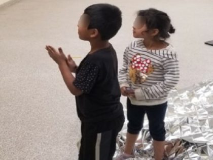 Two migrant children rescued from California mountains after being abandoned by human smugglers. (Photo: U.S. Border Patrol/San Diego Sector)