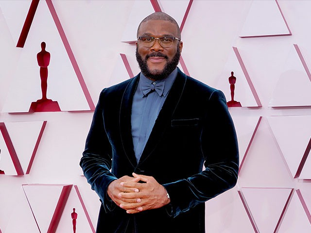 LOS ANGELES, CALIFORNIA – APRIL 25: Tyler Perry attends the 93rd Annual Academy Awards at Union Station on April 25, 2021 in Los Angeles, California. (Photo by Chris Pizzello-Pool/Getty Images)