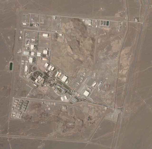 'Suspicious' Blackout Strikes Iran's Underground Natanz Nuclear Site