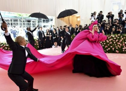 Lady Gaga attends The Metropolitan Museum of Art's Costume Institute benefit gala on May 6, 2019, in New York. The Metropolitan Museum of Art announced Monday that the annual high-wattage celebration of both fashion and celebrity -- held virtually in 2020 because of the pandemic -- will return in person, …