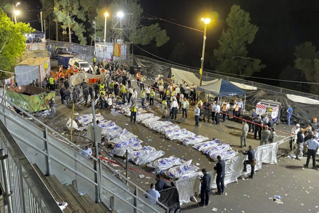 Israel mourns deaths of 45 in stampede at religious festival