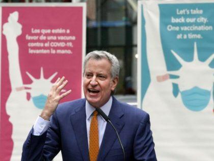 Bill de Blasio: Joe Biden Said NYC's Vaccinate Mandate Should Be Copied Nationwide