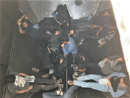 Corpus Christi Station Border Patrol agents find 24 migrants in a grain hopper railcar near Robstown, Texas, on May 10. (Photo: U.S. Border Patrol/Rio Grande Valley Sector)