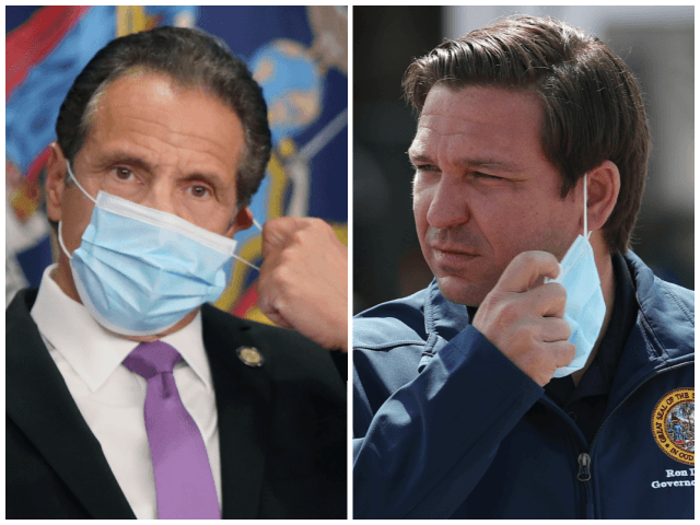 The Tale of Two Governors: 'Breaking the News' Exposes Establishment Media's Extreme Prejudice in Covering Cuomo, DeSantis thumbnail