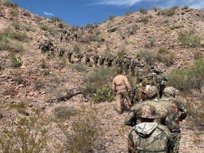 Van Horn Station Border Patrol agents apprehend 115 migrants in Texas' most-remote sector. (Photo: U.S. Border Patrol/Big Bend Sector)