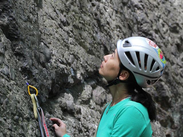 BIPOC rock climbing