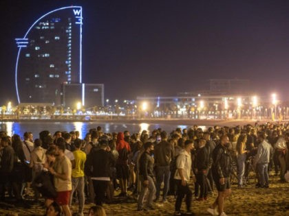 Spontaneous Street Parties Celebrate End of Spain's State of Emergency