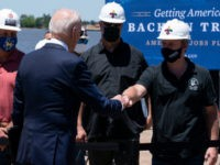 Biden Wears Mask Outside in Louisiana Despite Updated CDC Guidelines