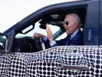 Secret Service Allows Joe Biden to Drive Electric F-150