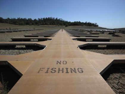 California drought Folsom Lake (Justin Sullivan / Getty)