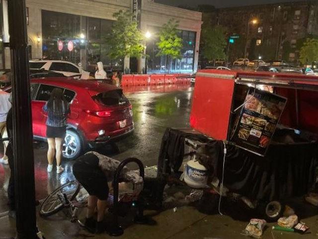 Car Crash Food Cart