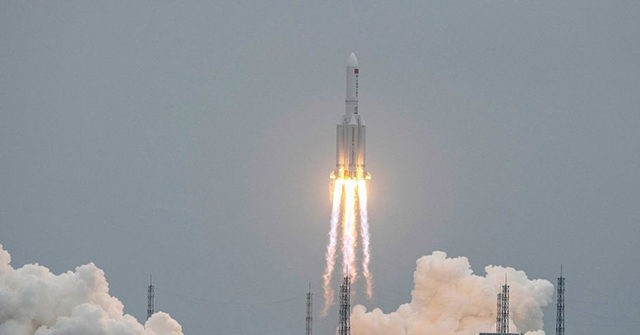 China Says 'People Needn't Worry' About Rocket Falling to Earth