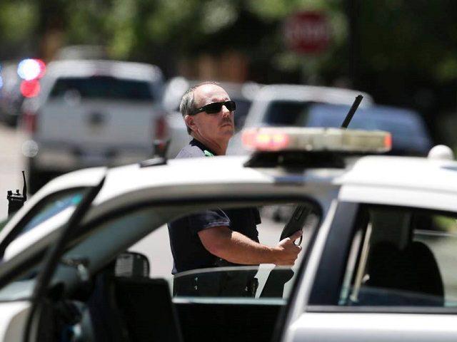 Dallas Police Crime Scene -- LM Otero-AP