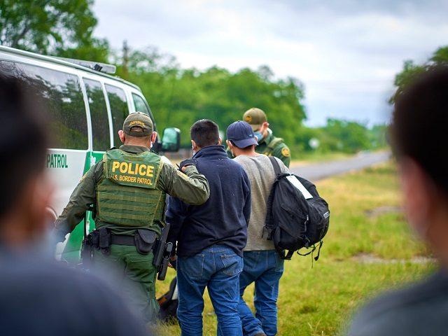 Del Rio Sector agents set single-day record for migrant apprehensions. (Photo: U.S. Border Patrol/Del Rio Sector)