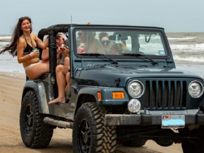 WATCH: 87 Arrested in Texas 'Go Topless' Jeep Rally