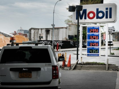 As gas prices continue to rise, people fill-up at a gas station in Brooklyn on May 03, 2021 in New York City. Businesses in the building, service, hospitality and retail sectors are seeing solid growth as the U.S. economy surges out of the Covid-19 slowdown. According to the Commerce Department, …