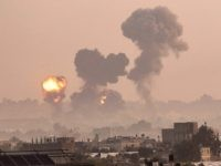 Gaza strikes (Said Khatib / AFP / Getty)