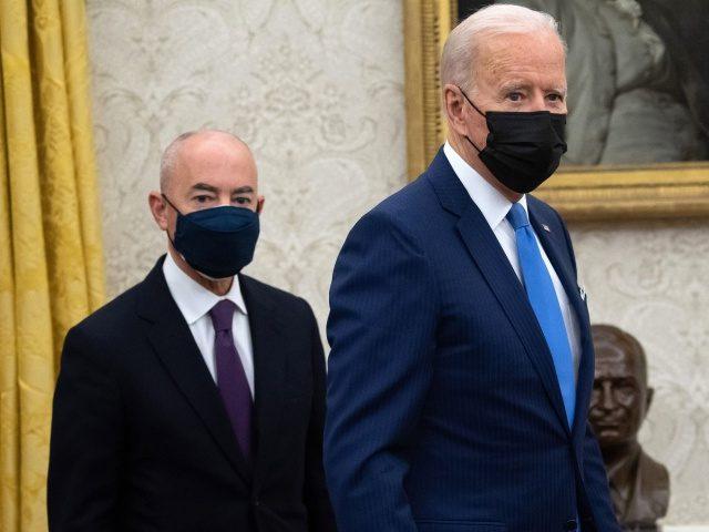 Former CBP Chief: Joe Biden, Alejandro Mayorkas 'Turning U.S. into Sanctuary Country' for Illegal Aliens