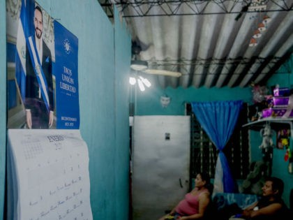 SAN SALVADOR, EL SALVADOR – On MAY 04:A calendar of the Salvadoran President Nayib Bukele in they're home of the Castro Portillo's family, as President of El Salvador Nayib Bukele adresses the recent dismissal of Attorney General and judges of the Supreme Court on May 4, 2021 in San Salvador, …