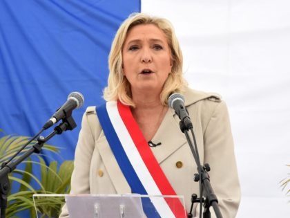 Large Majority of Police Support Marine Le Pen for President