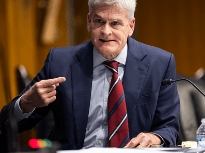 Republican Senator from Louisiana Bill Cassidy questions Rochelle Walensky (not pictured), Director of the US Centers for Disease Control and Prevention (CDC), during a Senate Health, Education, Labor, and Pensions hearing to examine an update from Federal officials on efforts to combat COVID-19 in the Dirksen Senate Office Building on …