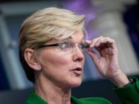 Energy Secretary Jennifer Granholm Says 'Pipe Is the Best Way' to Transport Fuel After Admin Canceled Keystone Pipeline