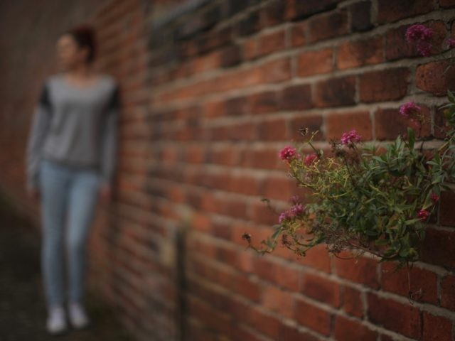 ROTHERHAM, ENGLAND - SEPTEMBER 03: (EDITORS NOTE: This image was processed using digital filters.) A teenage girl, who claims to be a victim of sexual abuse and alleged grooming, poses in Rotherham on September 3, 2014 in Rotherham, England. South Yorkshire Police have launched an independent investigation into its handling ...