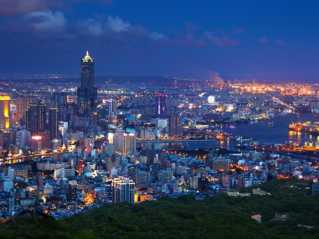 Kaohsiung night view, Taiwan