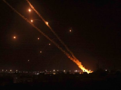 Hamas rockets (Said Khatib / AFP / Getty)