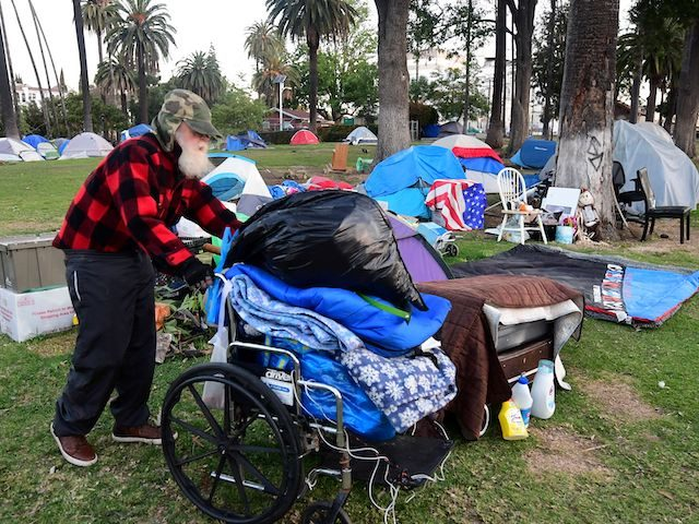 54% of Fires Set in Los Angeles Are in Homeless Encampments, HUD Reports Population 66,000+