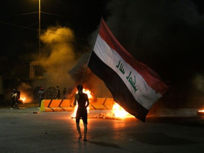 Iraq: Anti-Government Protesters Set Fire to Iran Consulate