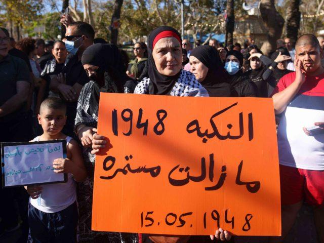 Jaffa protest (Ahmad Gharabli / AFP / Getty)