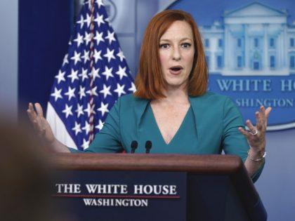 Jen Psaki (Evan Vucci / Associated Press)