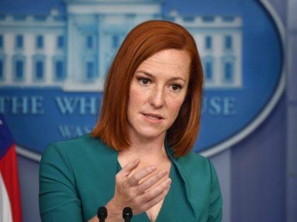 Jen Psaki (Nicholas Kamm / AFP / Getty)