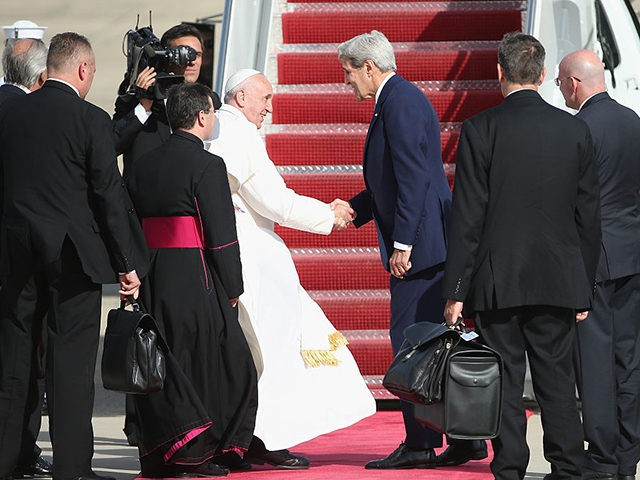 John Kerry: Pope Francis Is 'Compelling Moral Authority' on Climate Crisis