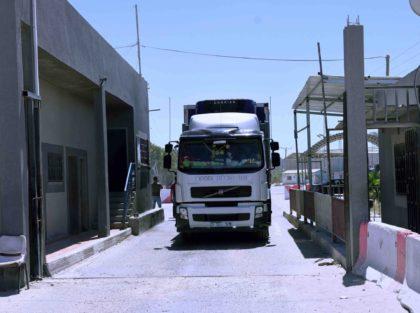 Kerem Shalom humanitarian aid (Said Khatib / AFP / Getty)