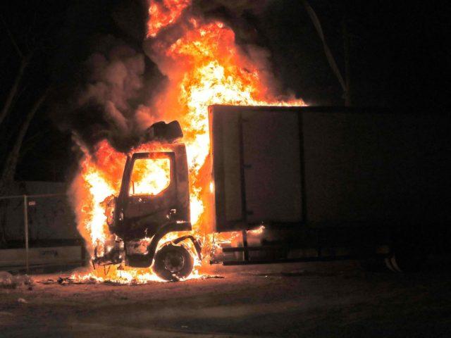 Lod riots (Ahmad Gharabli / AFP / Getty)