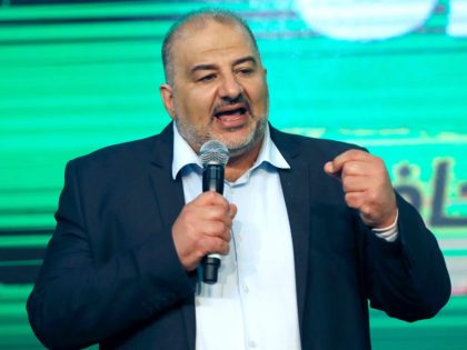 Mansour Abbas of Ra'am (Ahmad Gharabli / Getty)
