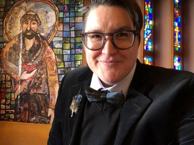 ransgender Bishop (Megan Rohrer via AP)