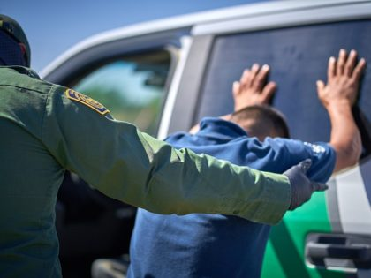 Del Rio Sector Border Patrol agents arrested ten criminal aliens during a one-week period. (Photo: U.S. Border Patrol/Del Rio Sector)