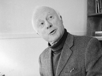 FILE - Norman Lloyd, executive producer of Hollywood Theater, a series of high-class dramatic shows seen on affiliated stations on the Public Broadcasting Service, poses for a photo on Dec. 26, 1974, in Los Angeles. Lloyd, the distinguished stage and screen actor known for his role as a kindly doctor …