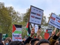 Pics: 'Zionist Israel = Nazi Germany' — Pro-Palestinian Activists March in London