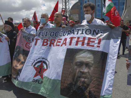 Palestinian BLM (Nasser Nasser / Associated Press)