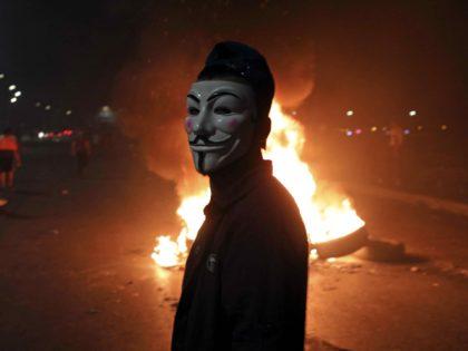 Palestinian riot (Abbas Momani / AFP / Getty)