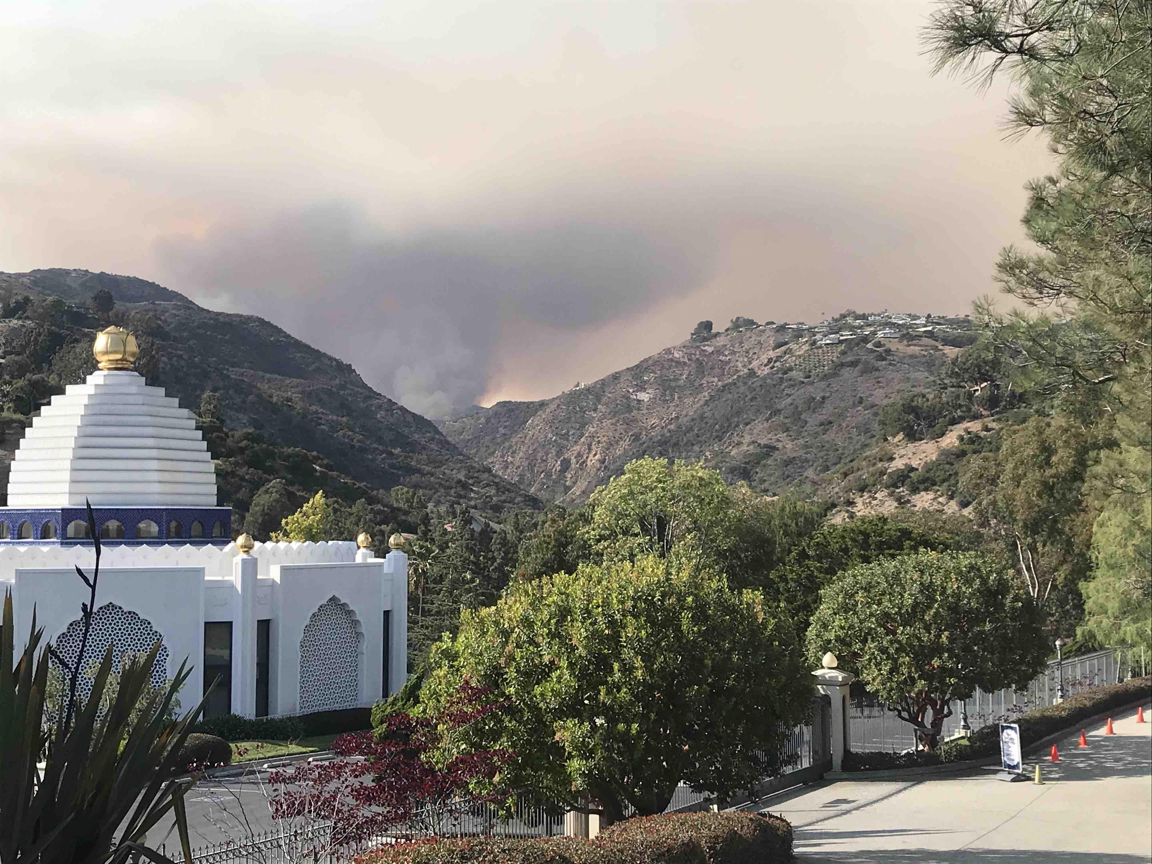 Palisades Fire (Breitbart News)