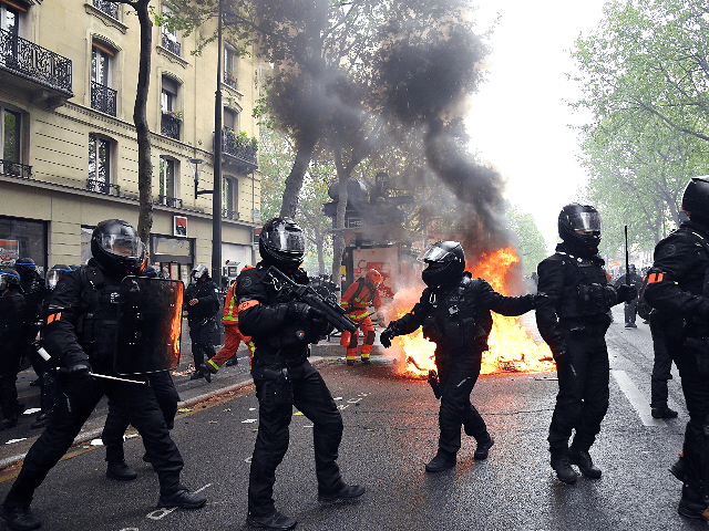 PICS: Leftists Stage Annual May Day Riots in Paris