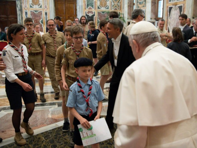 Pope Francis Calls on Scouts to Be 'Dynamic Christians'