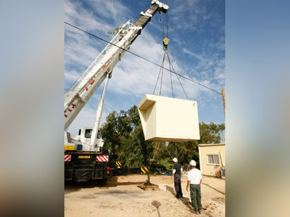 Christians Donate Portable Bomb Shelters to Israeli Communities