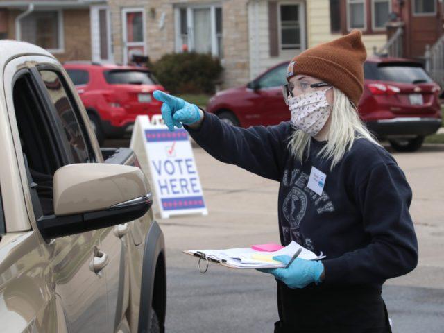Racine voting (Scott Olson / Getty)
