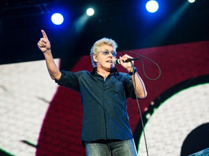Roger Daltrey of The Who performs during the Festival d'ete de Quebec on Thursday July 13, 2017, in Quebec City, Canada. (Photo by Amy Harris/Invision/AP)